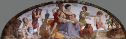 Johann Friedrich Overbeck. Murals from the House of Bartholdi. Seven obese years