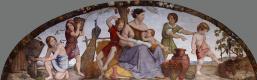Иоганн Фридрих Овербек. Фрески из Дома Бартольди - Семь тучных лет. 1816-1817