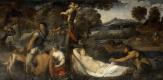 Тициан Вечеллио. Юпитер и Антиопа или Венера на леопардовой шкуре