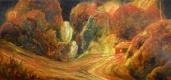 Владимир Иванович Осипов. Дальний рейс, д/масло, экспрессионизм, 10.17г.©