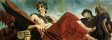 Эжен Делакруа. Война (фрагмент росписи дворца Бурбонов в Париже)