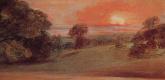Джон Констебл. Вечерний пейзаж