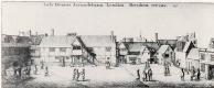Венцель Холлар. Дворовые постройки дома графа Арундела