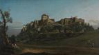 Бернардо Беллотто. Крепость Кёнигштайн с севера
