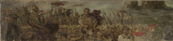 Wilhelm Kotarbinsky. The campaign of the army after a victorious battle