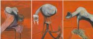 Фрэнсис Бэкон. Три этюда к рисункам на базе распятия