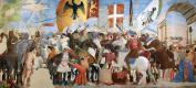 Пьеро делла Франческа. Битва между Ираклием и Хосровом