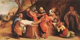 Лоренцо Лотто. Снятие со креста