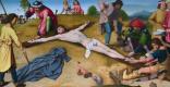 Герард Давид. Христос пригвожден к кресту