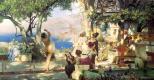 Генрих Ипполитович Семирадский. Танец среди мечей