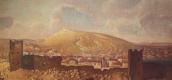 Василий Дмитриевич Поленов. Вид Феодосии со стороны Карантина с развалинами Генуэзской крепости