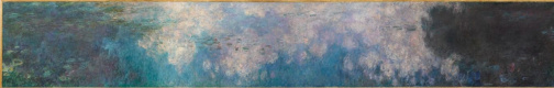 Claude Monet. Water lilies : the clouds