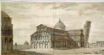 Шарль-Луи Клериссо. Падающая башня в Пизе