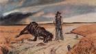 Джованни Фаттори. Крестьянин с упавшей лошадью