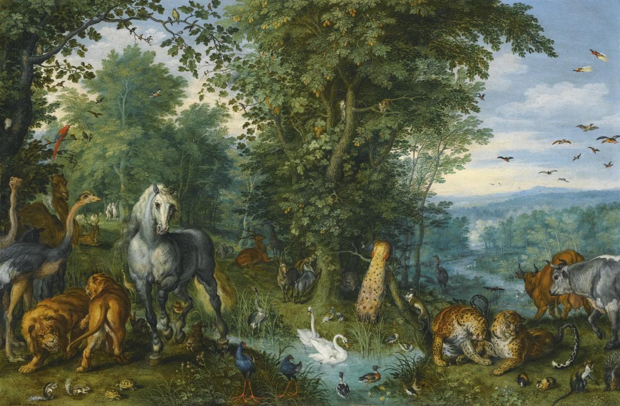 Райскому саду место в Англии! Картину Яна Брейеля Старшего запретили вывозить из страны.
