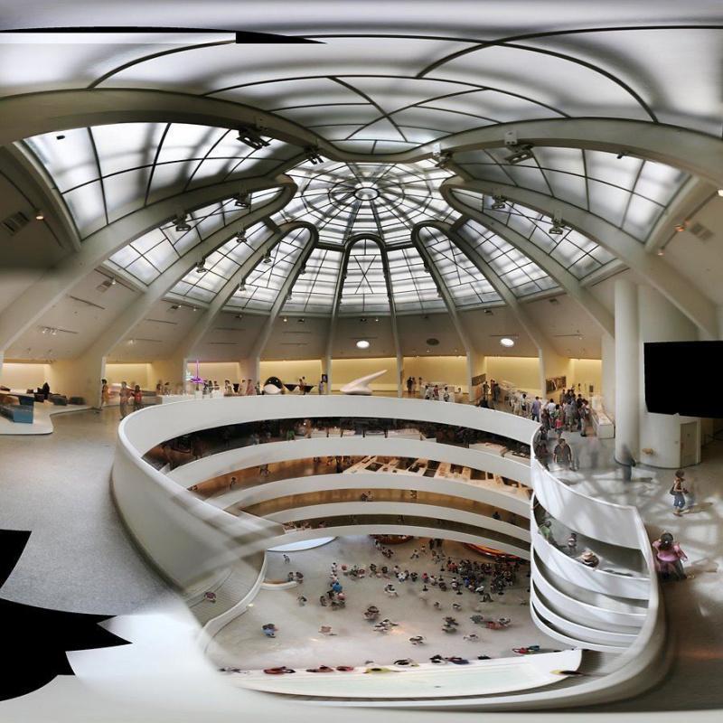 Музей Гуггенхайма в Нью-Йорке