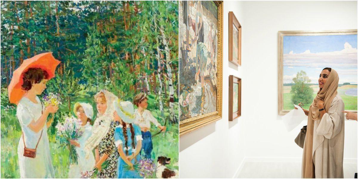 В Абу-Даби открыли первую на Ближнем Востоке выставку русского искусства ХХ века