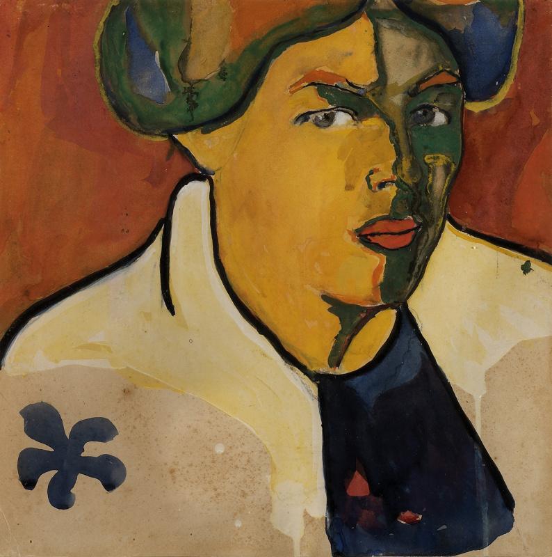 Казимир Малевич. «Портрет». 1910