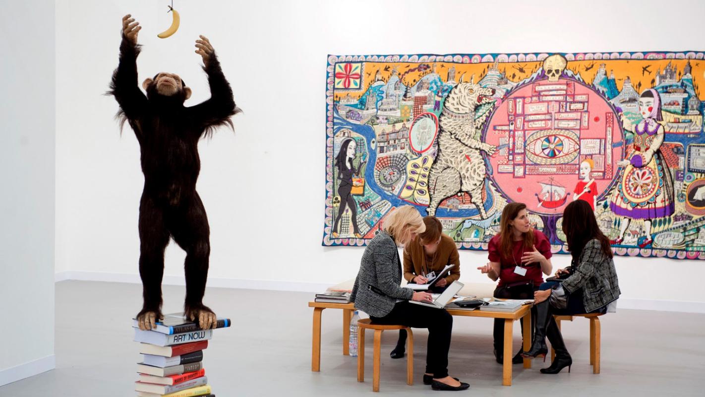 Рожденные сегодня! 15 октября в Лондоне откроется выставка современного искусства Frieze Art Fair - 2014