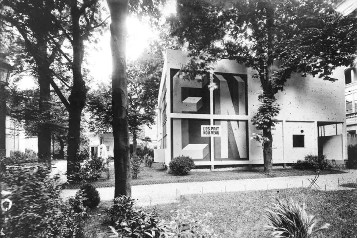 LeCorbusier. L'Esprit Nouveau Pavilion atthe International Exhibition ofDecorative and Industrial