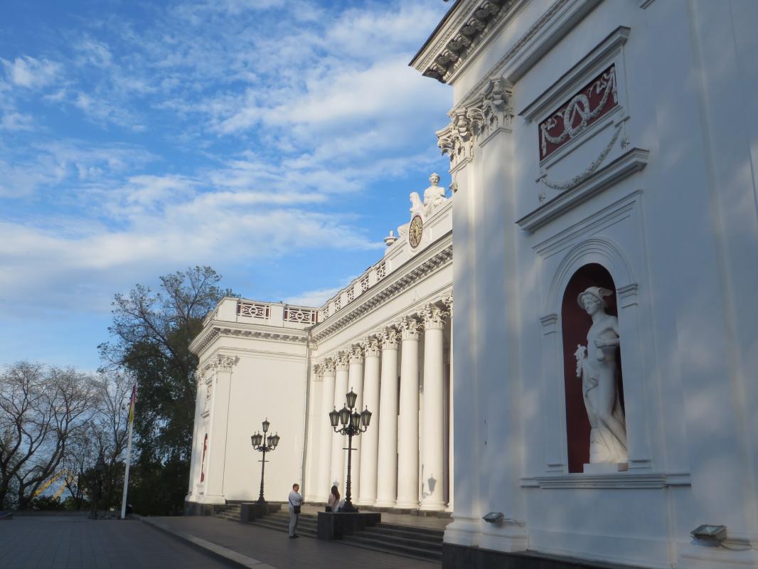 Здание Старой Биржи (Городской Думы), 2020 г.