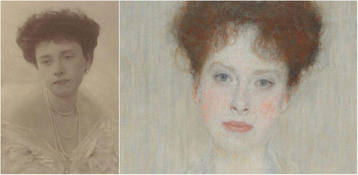 Волшебный портрет работы Климта с печальной историей - на аукционе Sotheby's