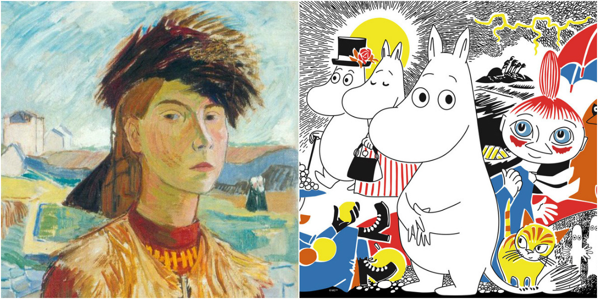 Tove Jansson's Unknown Paintings And The New Truths of The Moomins: The Reverse Side of Moominvalley