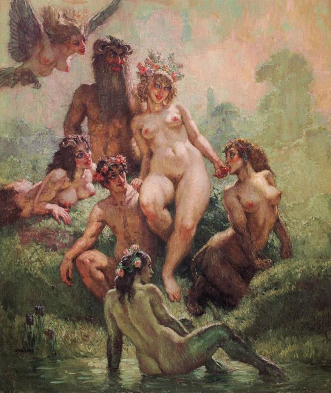 Эротика и секс в живописи и искусстве