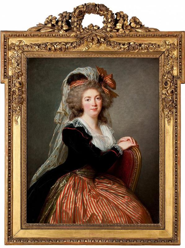 «Портрет Женевьевы ле Кутё дю Моле» (1788) работы Элизабет Виже-Лебрен висит на почётном месте в Бол