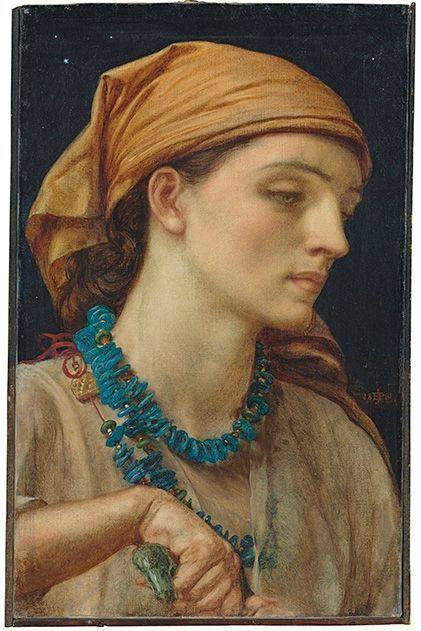 Сердцеедка Джейн Моррис на аукционе Christie's: знаменитое полотно прерафаэлита Данте Габиэля Росетти  - на торгах в Лондоне