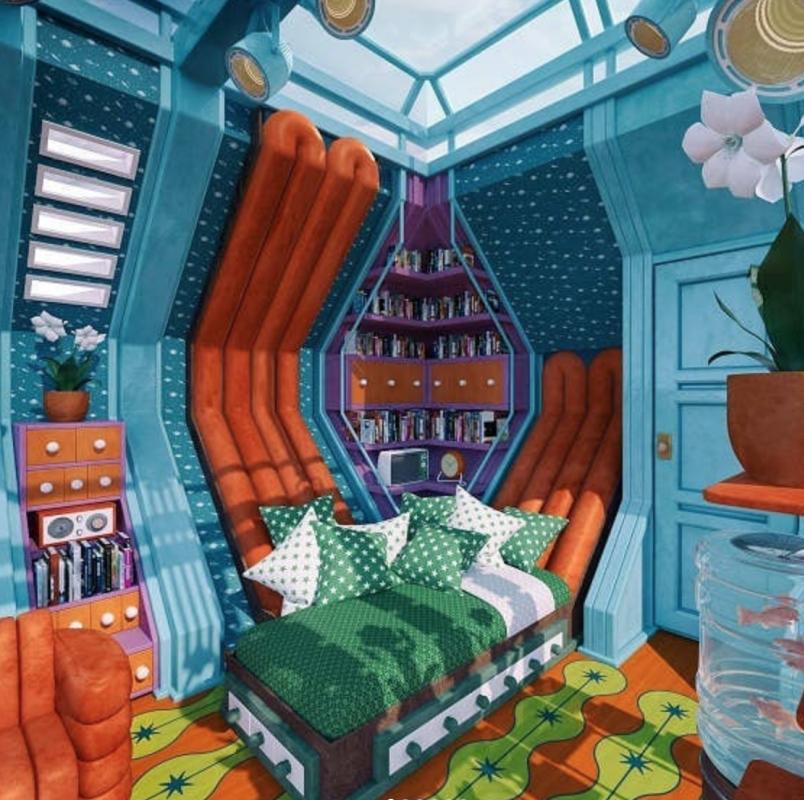 Комната главного героя мультсериала «Эй, Арнольд!»