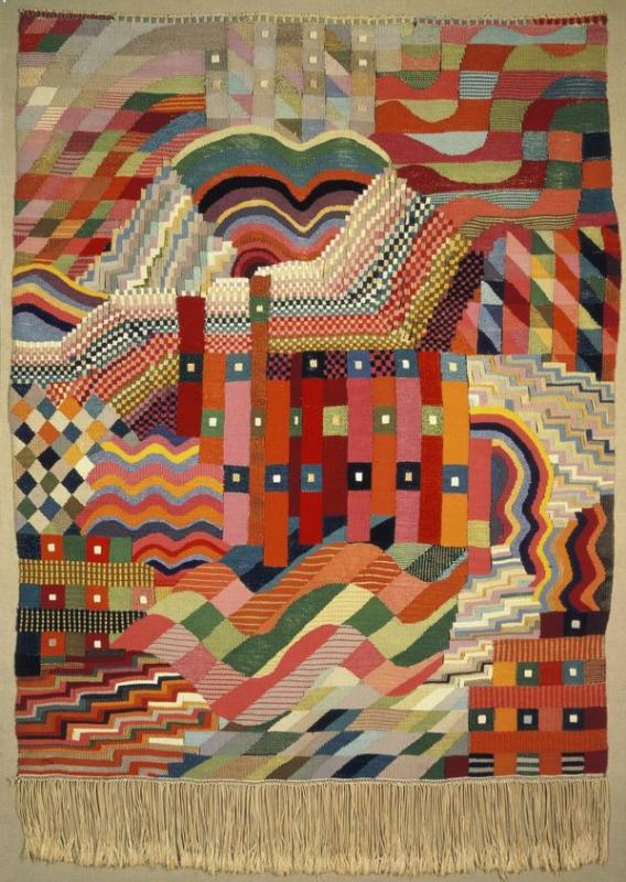 Гунта Штёльцль. Гобелен. 1928