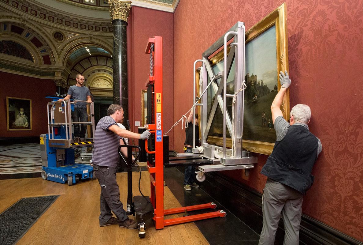 Панораму Беллотто за 11,6 млн фунтов купила Национальная галерея в Лондоне