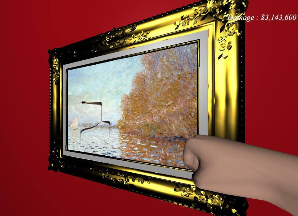 Легальный арт-вандализм:  как испортить картину  Моне и не  угодить за решетку?