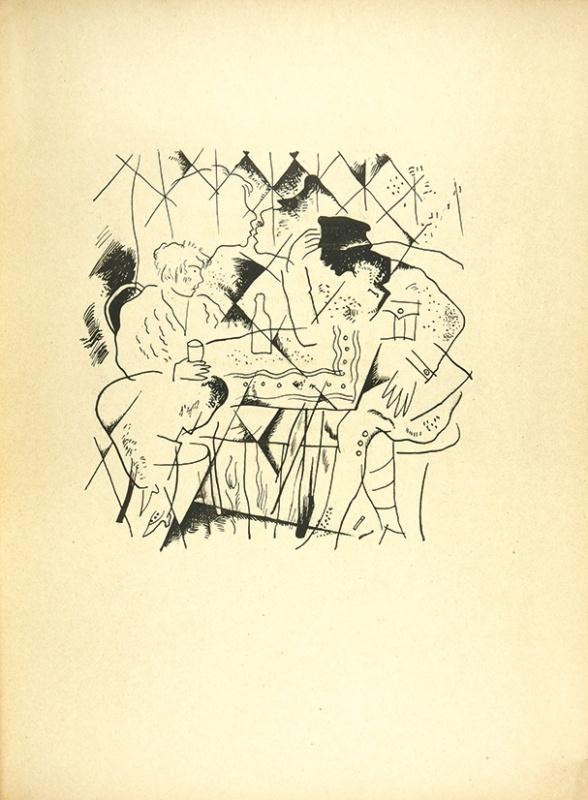 Юрий Анненков. Иллюстрации кпоэме А. Блока «Двенадцать». 1918. Источник.