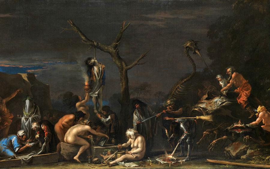Хеллоуин: потусторонний мир в искусстве