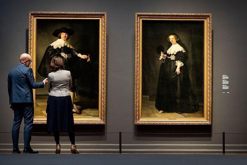 Самые желанные и наименее выставляемые картины Рембрандта прибыли в Амстердам