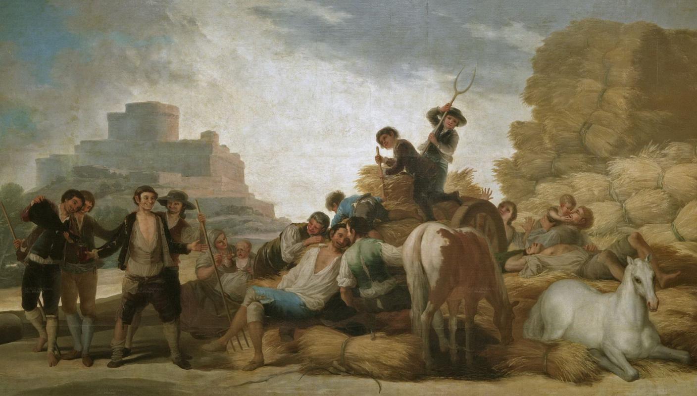 """""""Жнецы"""" Гойи отреставрированы и представлены в обновленной экспозиции музея Прадо"""