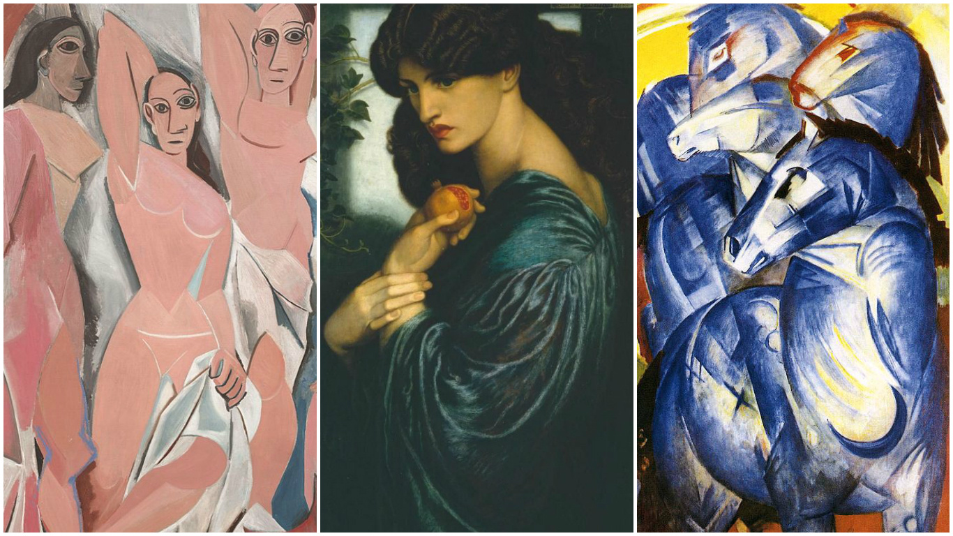 From Pre-Raphaelites to Bauhaus. How 11 art movements got their names