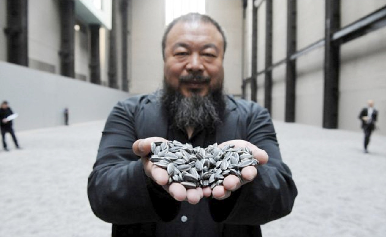 No way, Weiwei! The most standout, renowned and significant works of the Chinese rebel