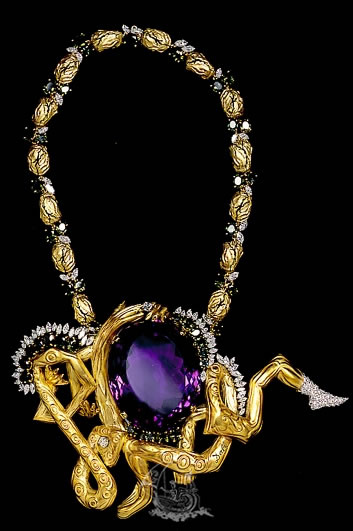 salvador dali as a designer the ideal thing for me is a jewelry