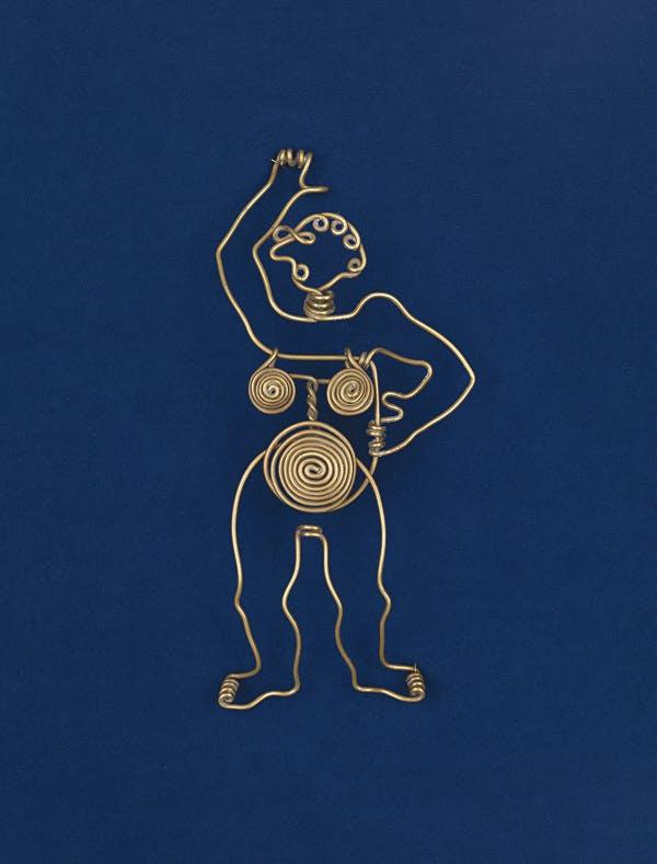 Александр Колдер. Пряжка для ремня. Ок 1935. Музей американского искусства Уитни, Нью-Йорк. Дар г-жи