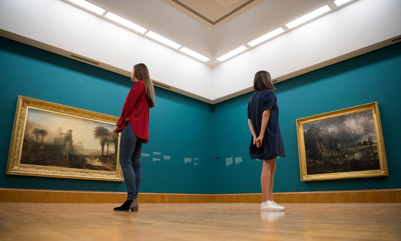 Впервые за 187 лет воссоединились картины, из-за которых повздорили Тёрнер с Констеблом