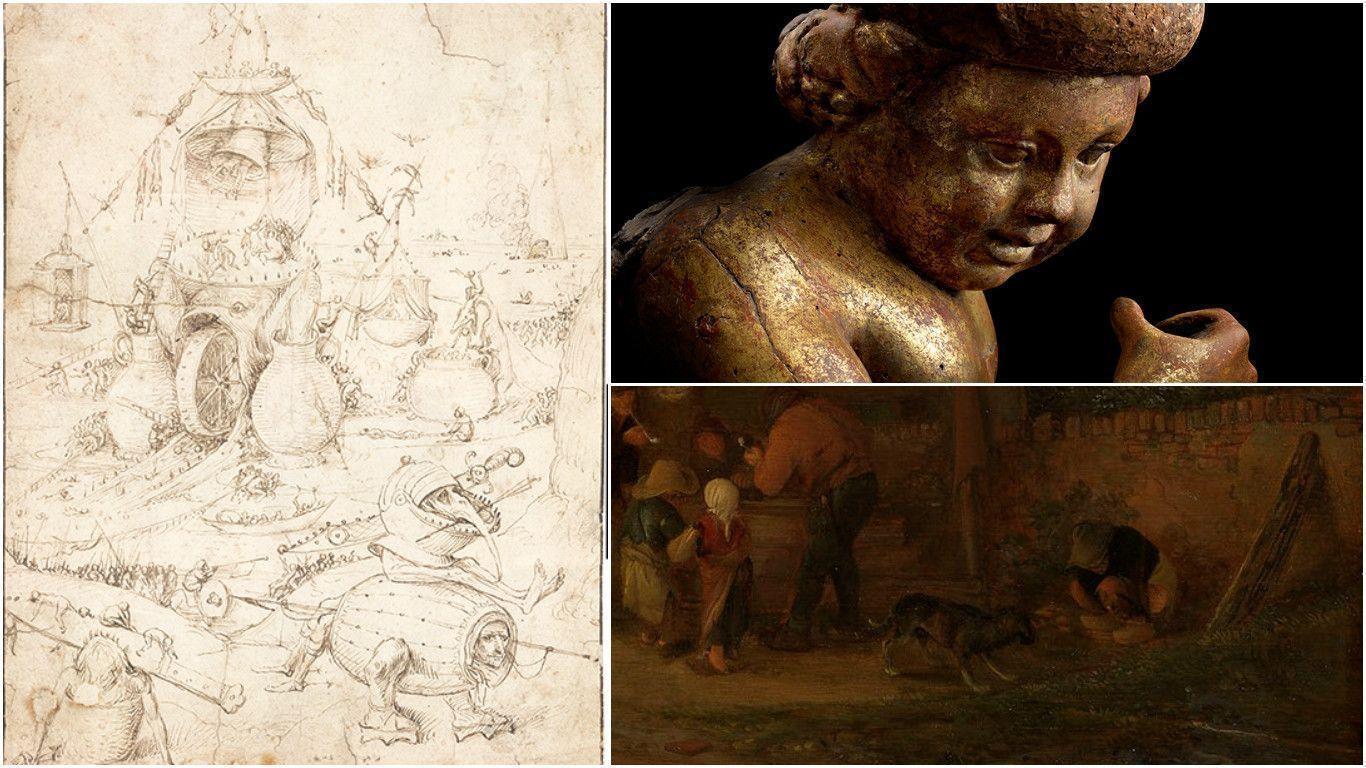 Босх, Донателло и Исаак ван Остаде преподнесли сюрпризы искусствоведам