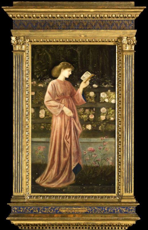 Edward Coley Burne-Jones. Princess Sabra. 1865