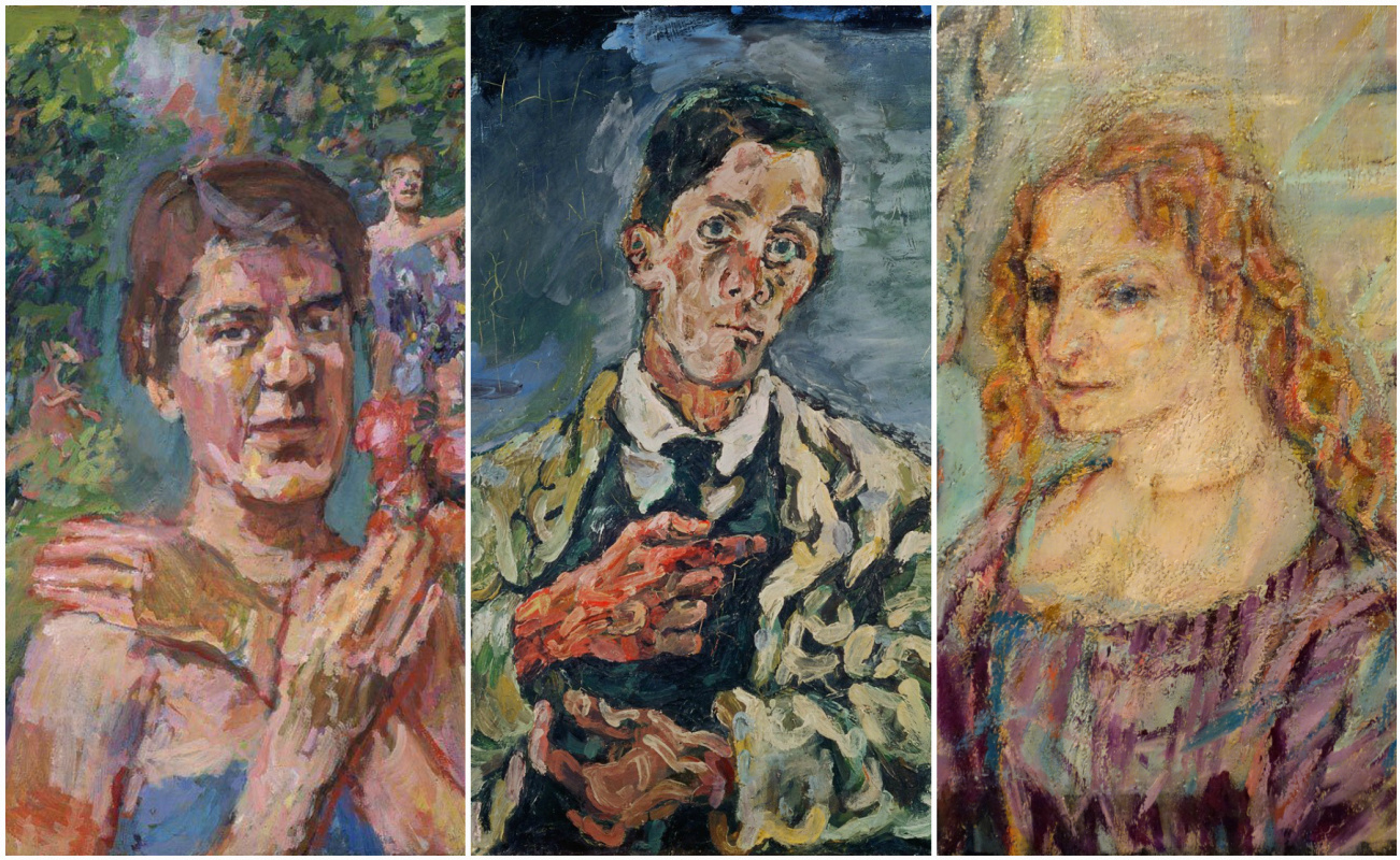 Love story in paintings: Oskar Kokoschka, Alma Mahler and Olda Palkovská