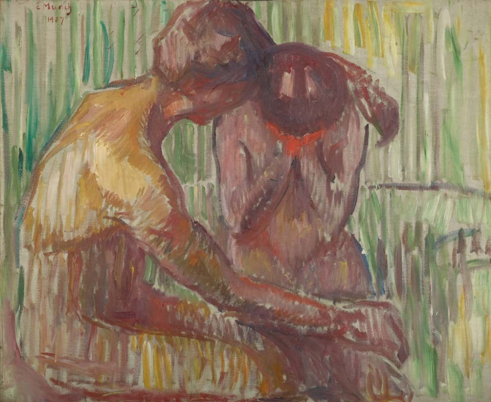 Эдвард Мунк, «Утешение» (1907)