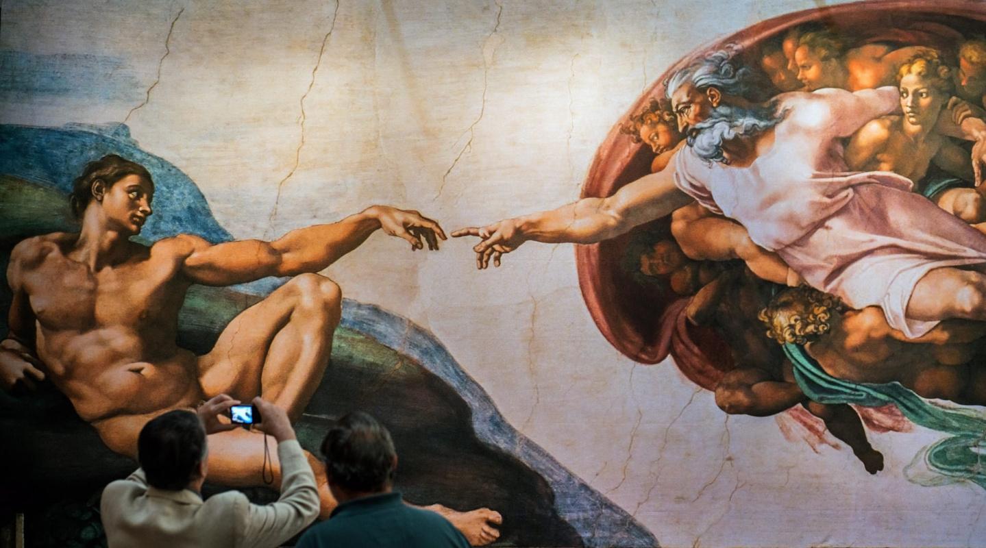 Цифровой фотопроект показывает Сикстинскую капеллу во всех подробностях