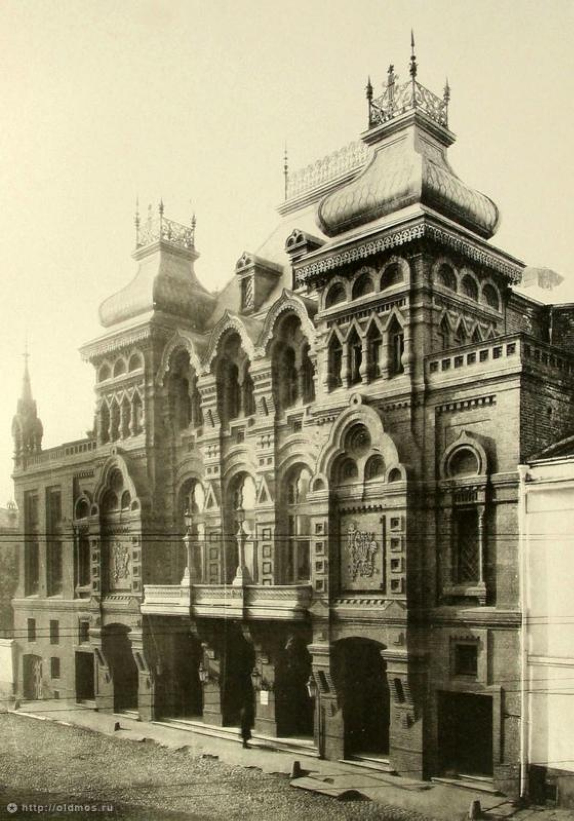 Paradise Theatre building. Architects Tersky, Shekhtel (theatre facade), 1885, Moscow. At present da