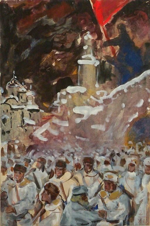 Арт-апрель в Одессе: русалки, Оперный, подвал, Афины - гуляем с мастерами